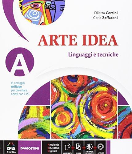 Arte Idea Vol.A Linguaggi e tecniche (con Art Rage) + Vol.B Storia dell'Arte + Vol.C Laboratorio delle competenze + eBook (anche su dvd) 1 Libreria Baldini - Comprare e vendere libri scolastici usati e nuovi