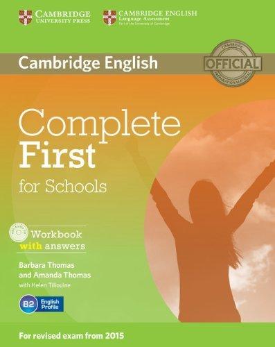 Complete First Certificate For School. Workbook with Answers with Audio CD [Lingua inglese] 1 Libreria Baldini - Comprare e vendere libri scolastici usati e nuovi