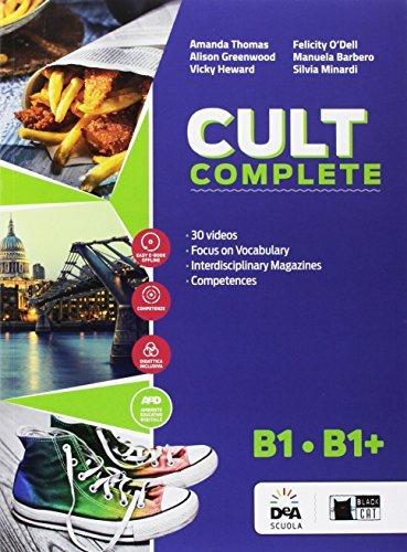 Cult complete. B1-B1+. Student's book-Workbook-Entry book-Preliminary. Per le Scuole superiori. Con e-book. Con espansione online. Con DVD-ROM [Lingua inglese] 1 Libreria Baldini - Comprare e vendere libri scolastici usati e nuovi