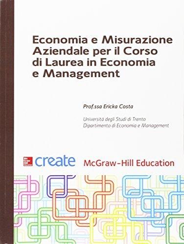 Economia e misurazione aziendale per il corso di Laurea in Economia e Management 1 Libreria Baldini - Comprare e vendere libri scolastici usati e nuovi