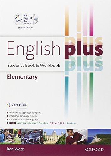 English plus. Elementary. Student's book-Workbook-My digital book. Per le Scuole superiori. Ediz. speciale. Con espansione online 1 Libreria Baldini - Comprare e vendere libri scolastici usati e nuovi