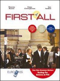 First of all. Per le Scuole superiori. Con CD Audio. Con espansione online 1 Libreria Baldini - Comprare e vendere libri scolastici usati e nuovi