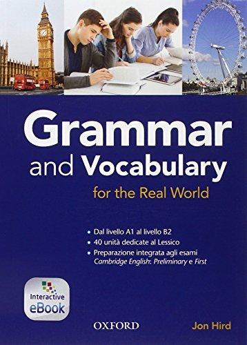 Grammar & vocabulary for real world. Student book-Openbook. Without key. Per le Scuole superiori 1 Libreria Baldini - Comprare e vendere libri scolastici usati e nuovi