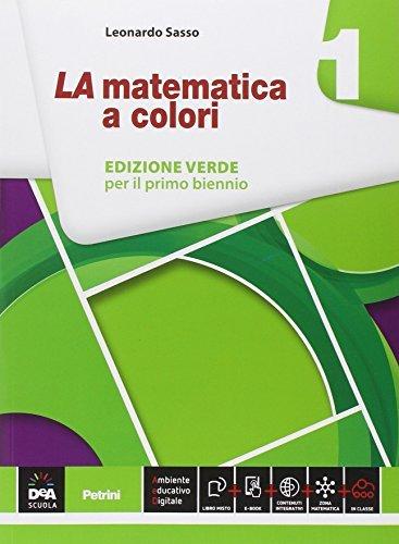 La matematica a colori. Ediz. verde. Per le Scuole superiori. Con e-book. Con espansione online (Vol. 1) 1 Libreria Baldini - Comprare e vendere libri scolastici usati e nuovi