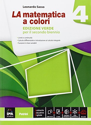 La matematica a colori. Ediz. verde. Per le Scuole superiori. Con e-book. Con espansione online (Vol. 4) 1 Libreria Baldini - Comprare e vendere libri scolastici usati e nuovi