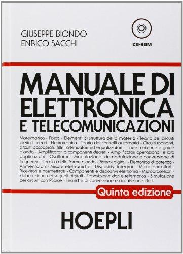Manuale di elettronica e telecomunicazioni. Per gli Ist. Tecnici industriali 1 Libreria Baldini - Comprare e vendere libri scolastici usati e nuovi