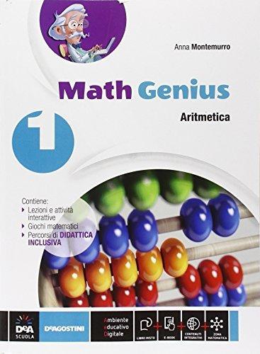 Math genius. Aritmetica-Geometria-Palestra delle competenze. Per la Scuola media. Con e-book. Con espansione online (Vol. 1) 1 Libreria Baldini - Comprare e vendere libri scolastici usati e nuovi