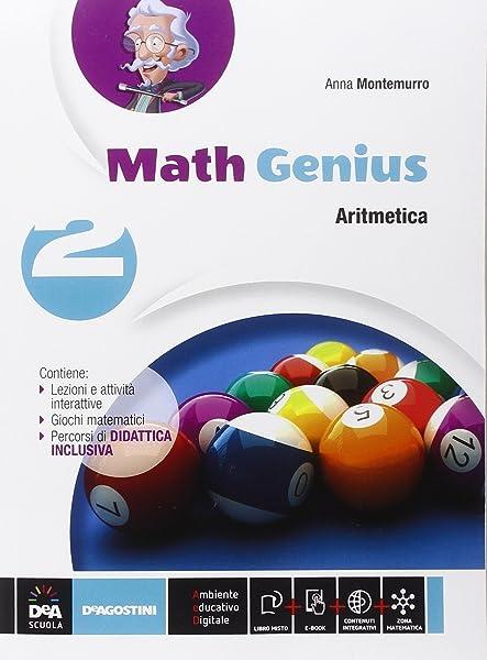 Math genius. Aritmetica-Geometria-Palestra delle competenze. Per la Scuola media. Con e-book. Con espansione online (Vol. 2) 1 Libreria Baldini - Comprare e vendere libri scolastici usati e nuovi