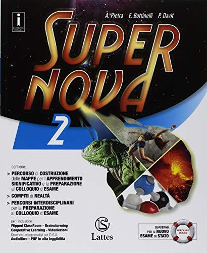 Supernova. Con Tavole illustrate. Per la Scuola media. Con ebook. Con espansione online (Vol. 2) 1 Libreria Baldini - Comprare e vendere libri scolastici usati e nuovi