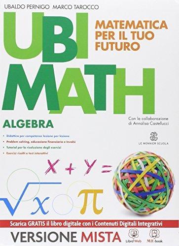 Ubi math. Matematica per il futuro. Algebra-Geometria 3. Per la Scuola media. Con e-book. Con espansione online 1 Libreria Baldini - Comprare e vendere libri scolastici usati e nuovi